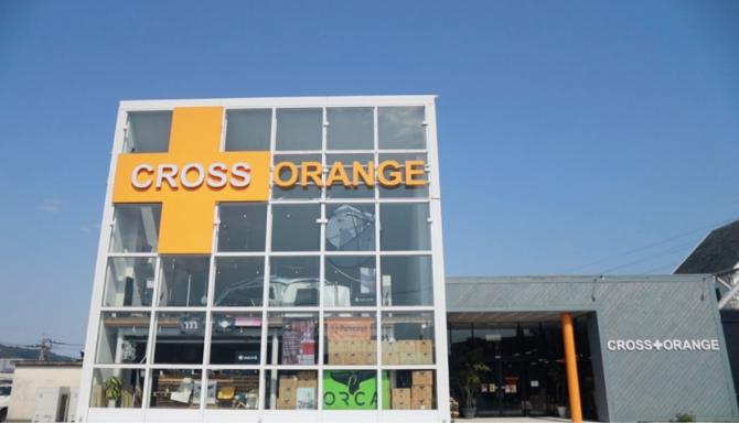 クロスオレンジの店舗外観