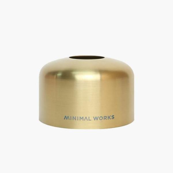 MINIMAL WORKS ガスキャニスターマスク 230g