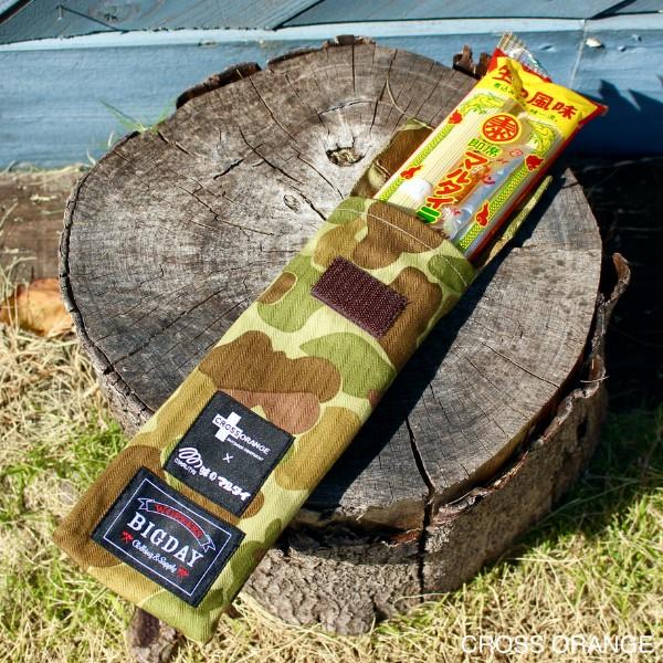 【ご当地コラボ】CROSS ORANGE × 味のマルタイ x WORKERS BIGDAY トリプルネーム ミリタリー棒ラーメンケース