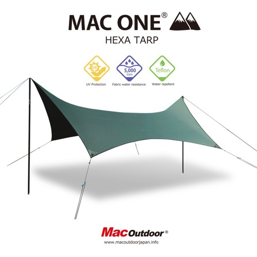 MAC ONE ヘキサタープ Mサイズ
