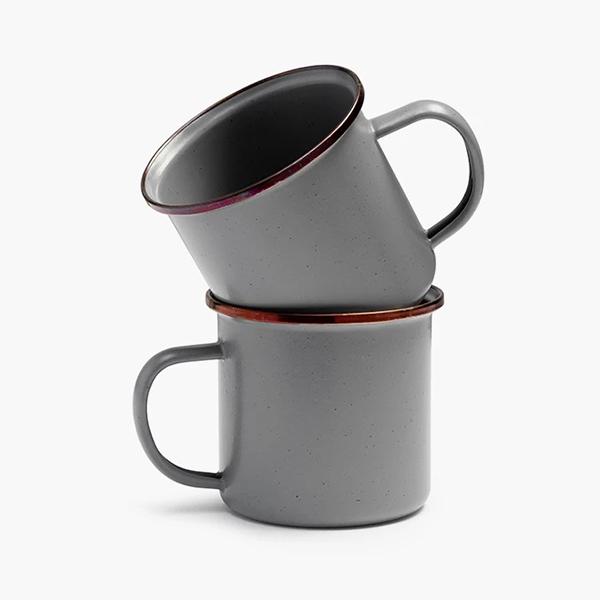 BAREBONES エナメルカップ2個セット