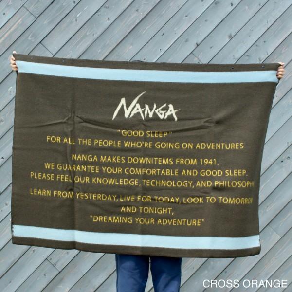 【NANGA】TRADITIONAL BLANKET/ナンガトラディショナルブランケット