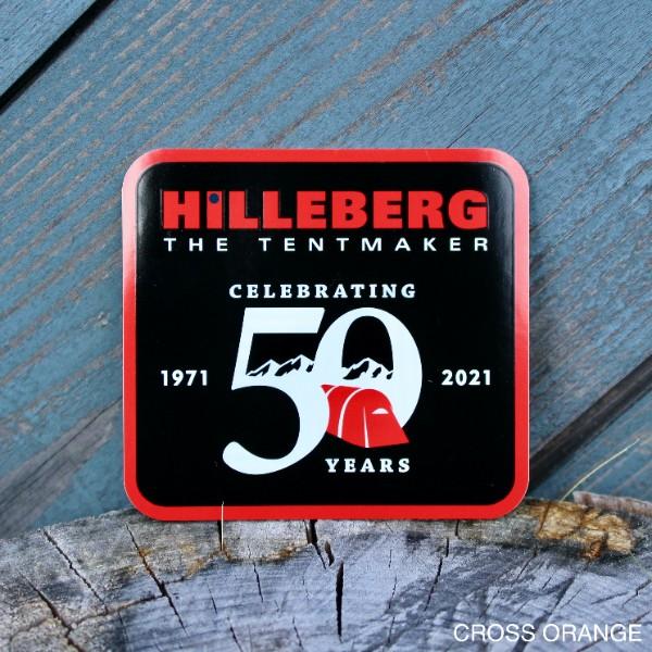 【HILLEBERG】50th パッチステッカー
