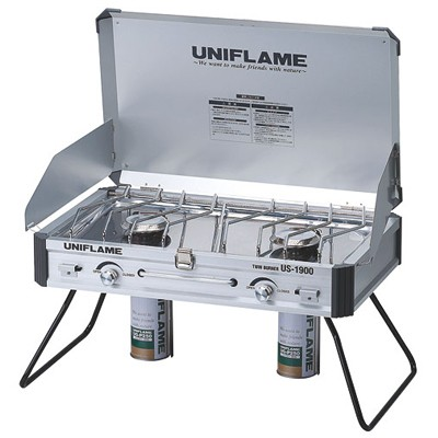 【UNIFLAME】ツインバーナー US-1900