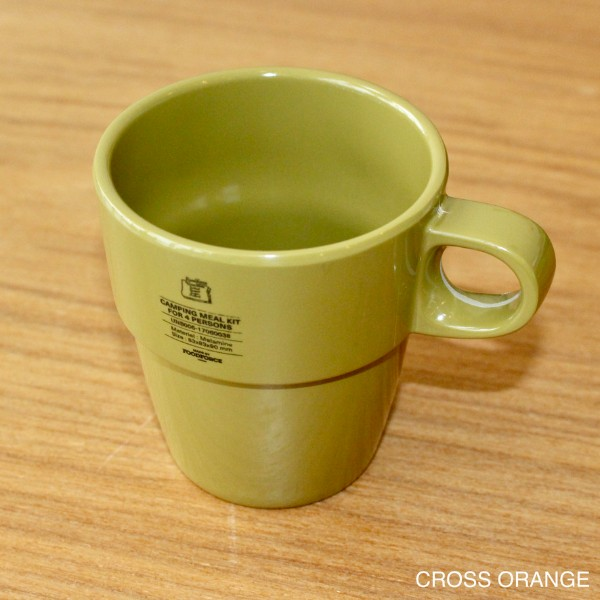 【FOOD FORCE】CAMPING MEAL PLATES マグ メラミン
