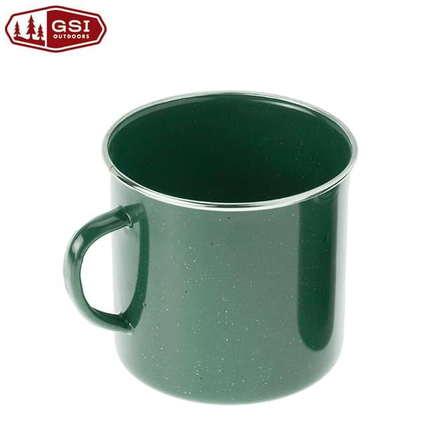 GSI ホウロウマグカップ Lリム付き