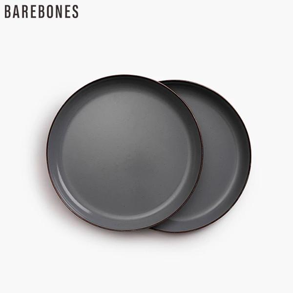 BAREBONES エナメルプレート 2個セット
