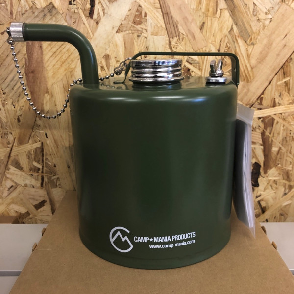 【CAMP★MANIA PRODUCTS】 RED CAMEL  2.5L ガソリン携行缶 ※お一人様1点まで