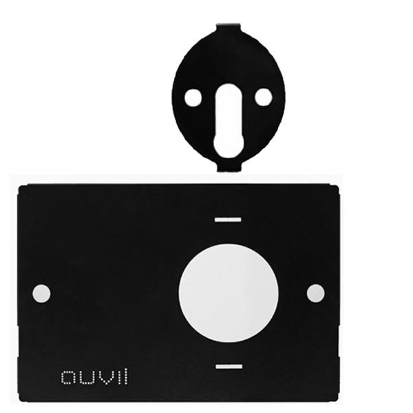 auvil black one burner plate + plate Kit set