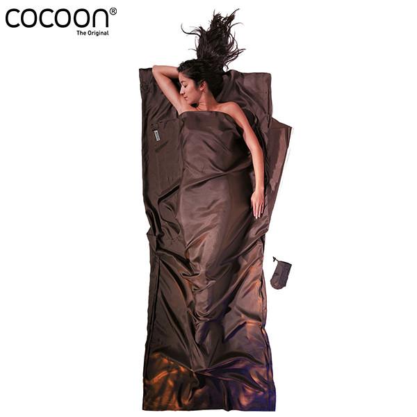 cocoon トラベルシーツ シルク