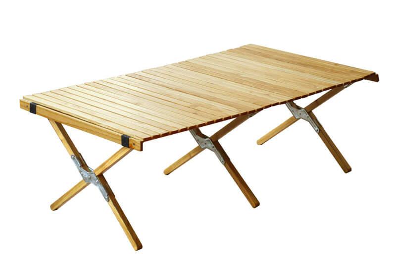 OUTPUT LIFE ウッドロールトップテーブル